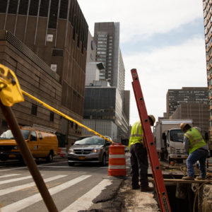34th Street Transit way – Phase I Construction in NYC by MFM Contracting Corp 01471