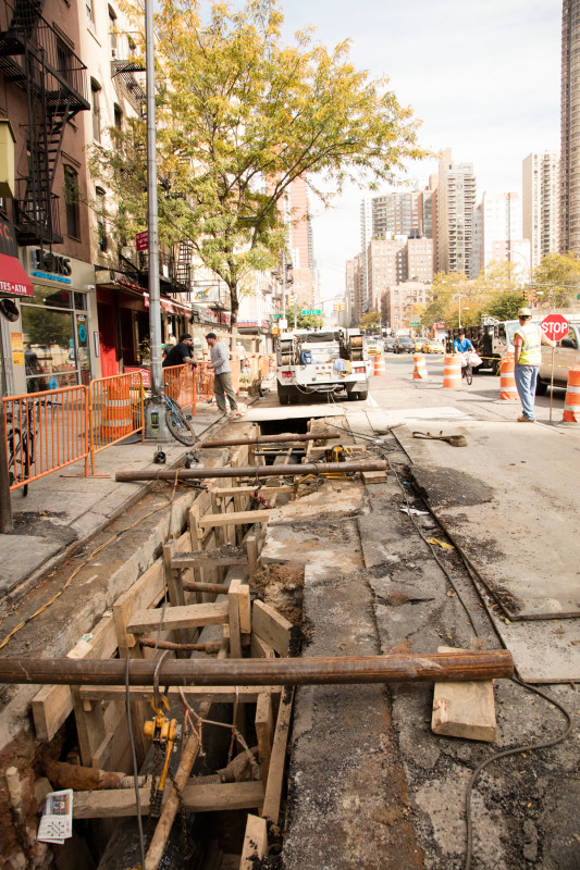 34th Street Transit way – Phase I Construction in NYC by MFM Contracting Corp 01541
