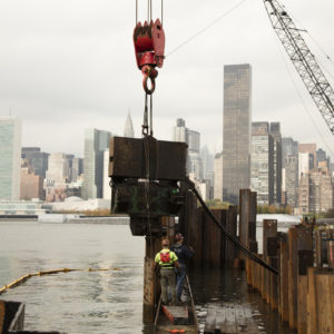 Pier Construction 44th Drive/East River Long Island-MFM Contracting Corp 0171