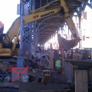 Columbia 12th Ave Sewer 1 MFM Contracting Corp Projects around New York City