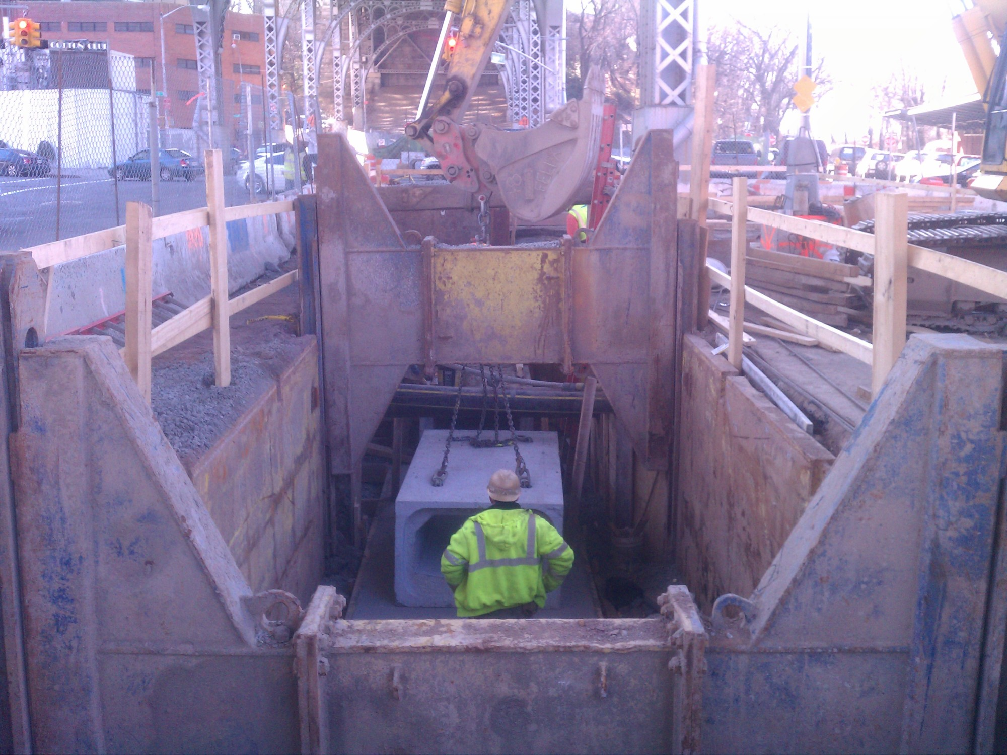 Columbia 12th Ave Sewer 2 -12th Avenue Storm Sewer Project -construction by MFM Contracting Corp New York